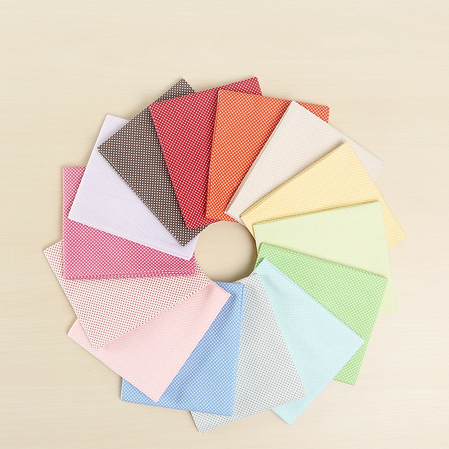 Color Basic Fat Quarter Bundle by Lecien