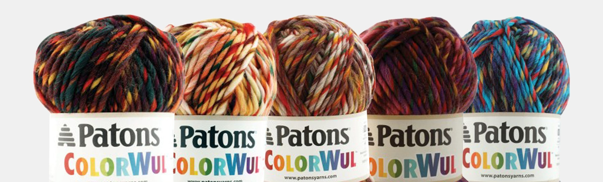 ColorWul Yarn by Patons