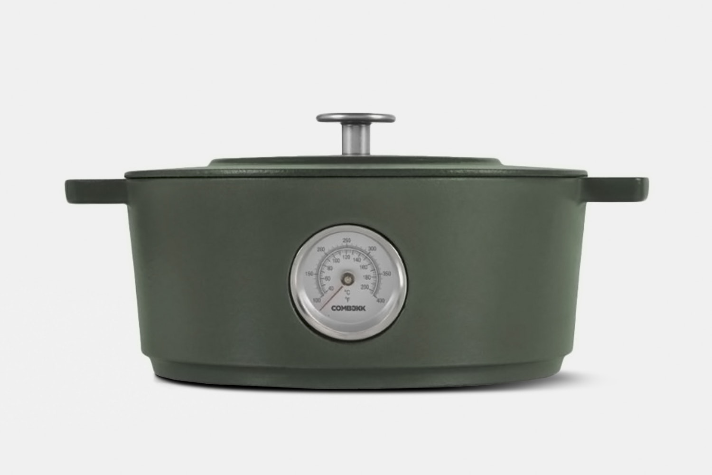 Comebekk Railway Dutch Oven w/ Thermometer – Green (+$20)