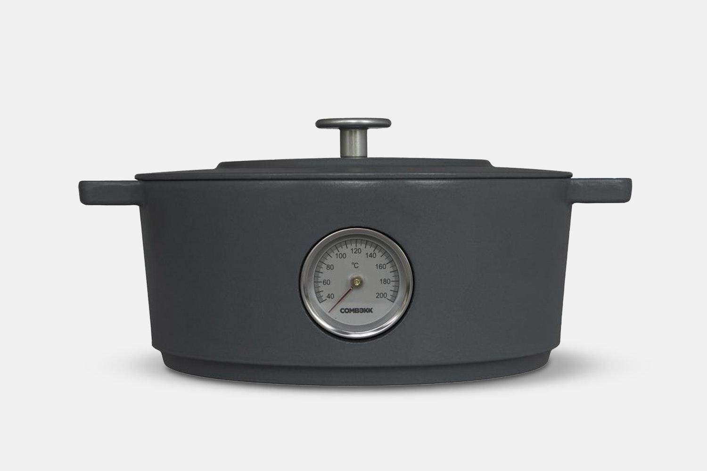 Comebekk Railway Dutch Oven w/ Thermometer – Concrete (+$20)