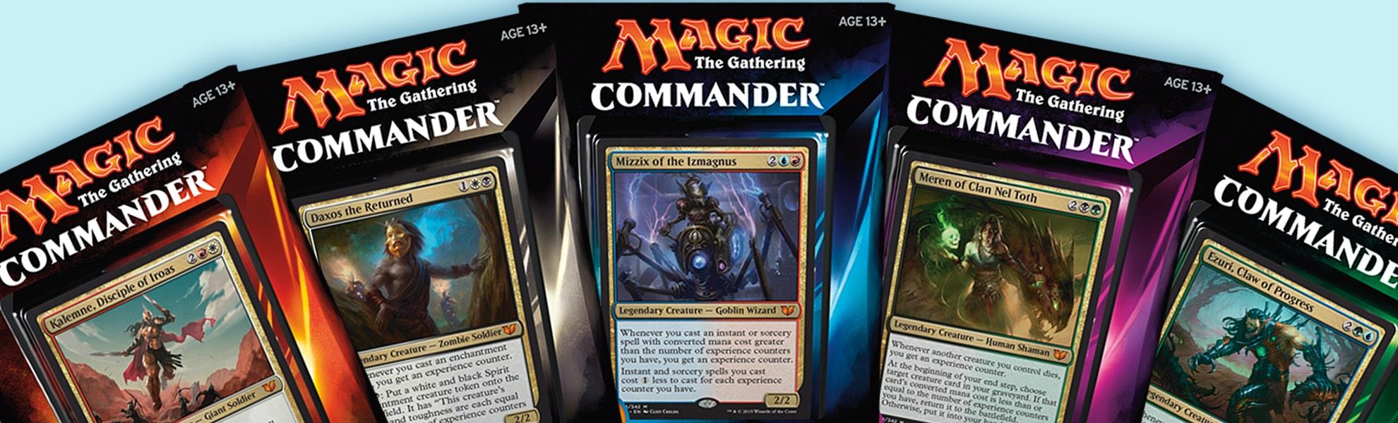 Commander 2015 (5-Pack)