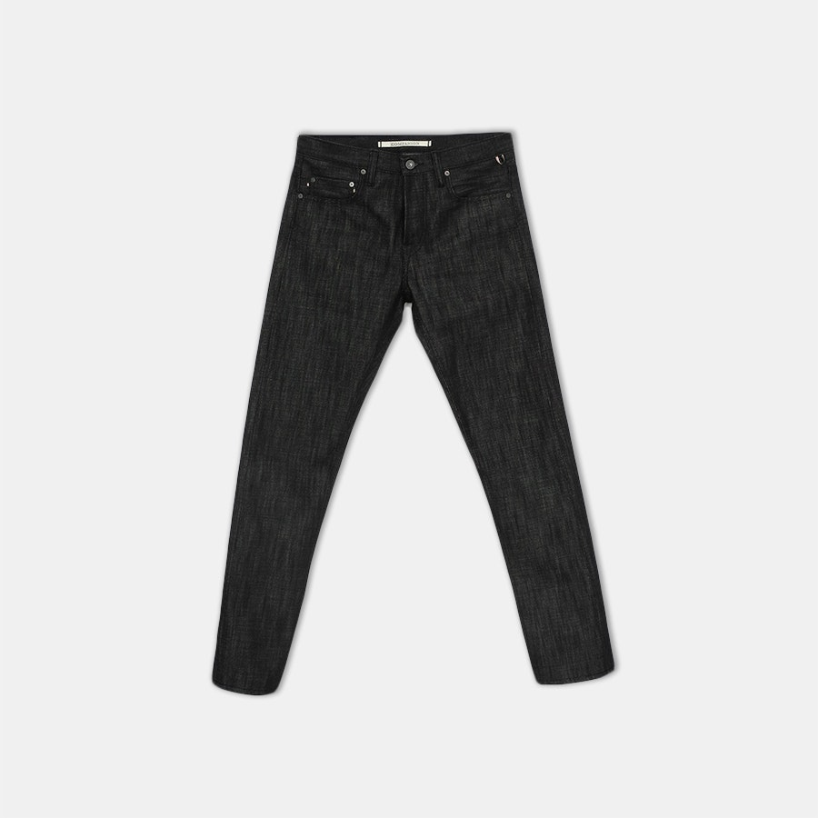 Companion Black Selvage Raw Denim