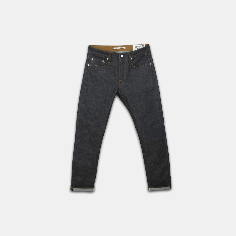Companion Denim 14-Ounce Green Cast Selvage Denim