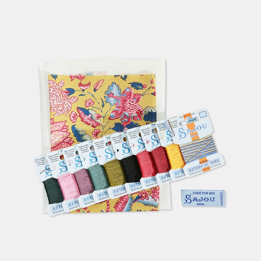Complete Cross-Stitch Kit by Maison Sajou