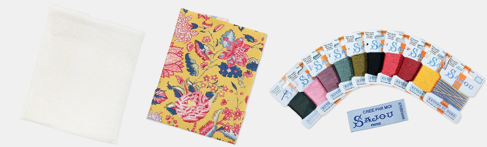 Complete Cross-Stitch Kit by Maison Sajou