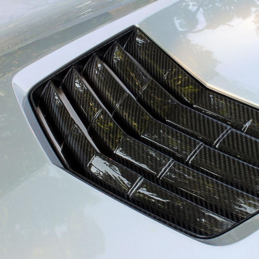 Nowicki Autosport Carbon Fiber Hood Vent (C7)