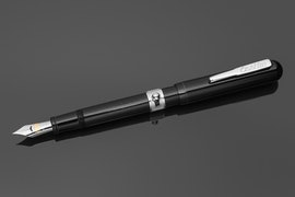 Conklinetta Senior Side Button Filler  - Black