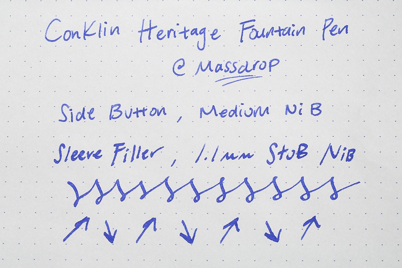 Conklin Heritage Fountain Pen