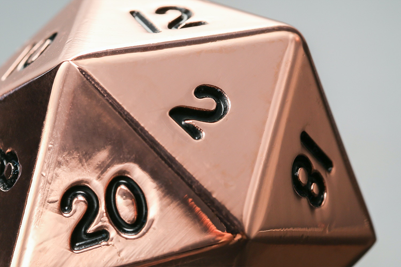 Copper Mega Metal D20