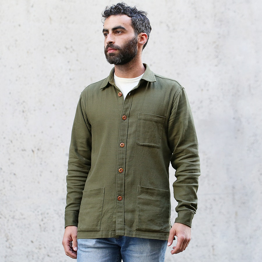 Corridor Army Green Overshirt