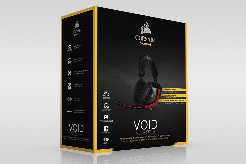Corsair Hybrid Gaming Headset w/Dolby 7.1 USB