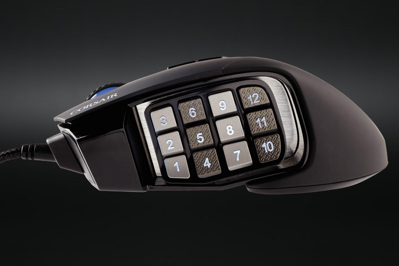 Corsair Scimitar Pro RGB MOBA/MMO Gaming Mouse