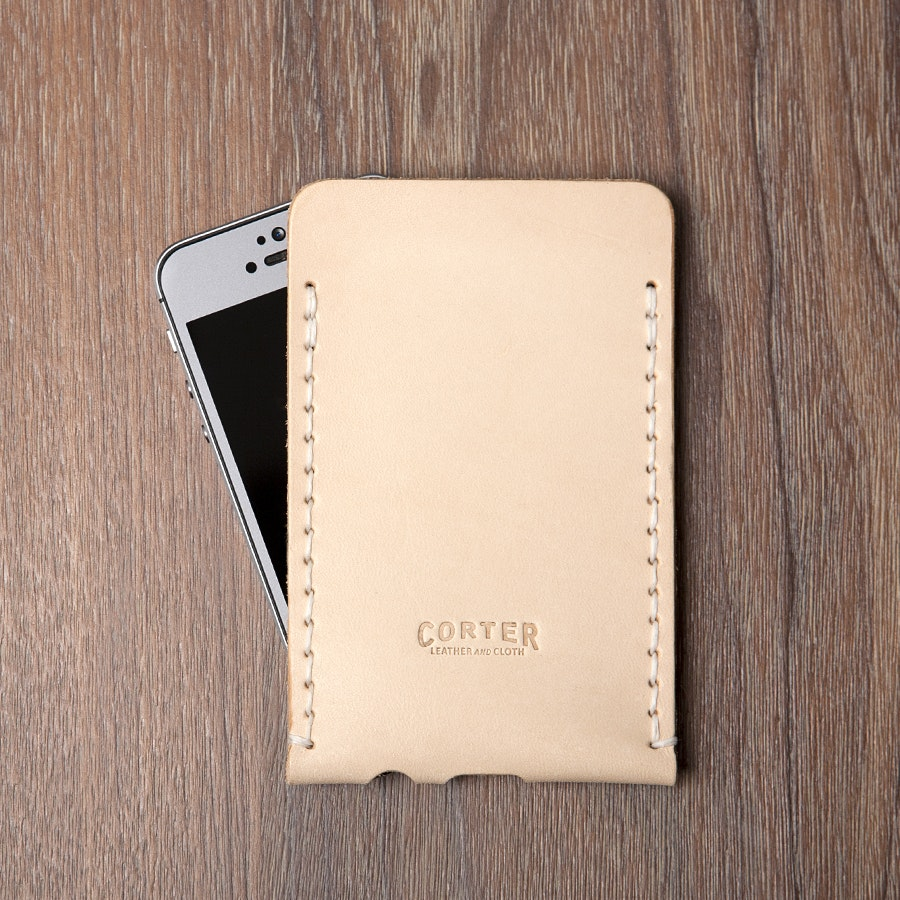 Corter Leather iPhone 5 Case