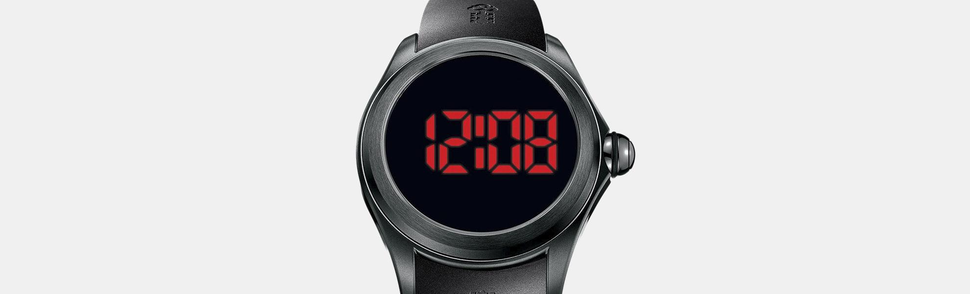Corum Bubble 47 Disconnected Quartz Watch