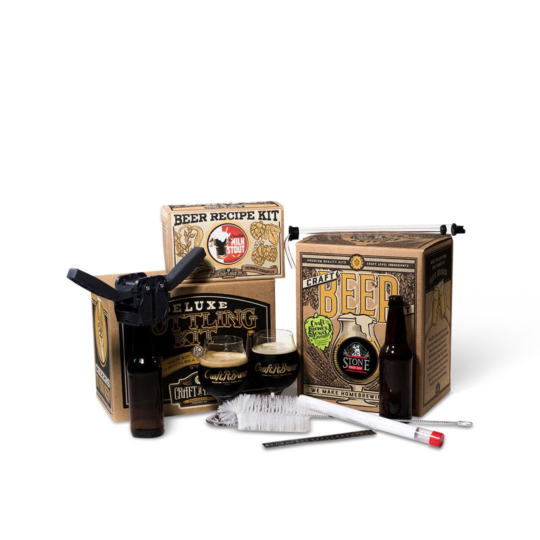 Craft A Brew Craft-Beer-Obsessed Gift Package