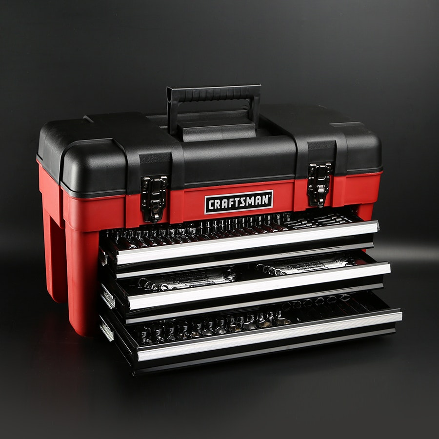 Craftsman 182 Piece Mechanics Tool Set