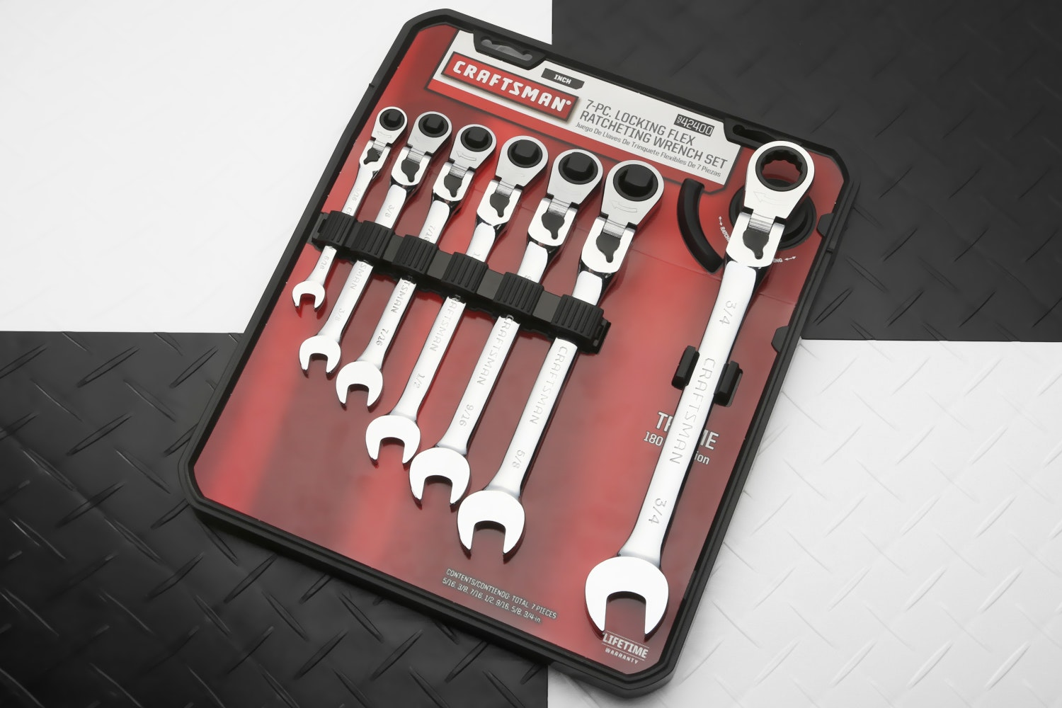 Craftsman Ratcheting Flex Combination Wrenches