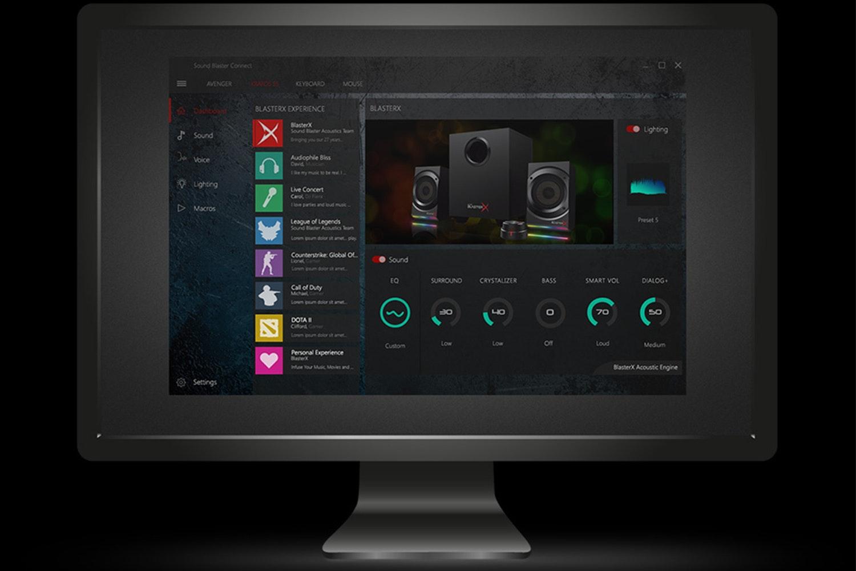 Creative Sound BlasterX Kratos S5 RGB 2.1 Speakers