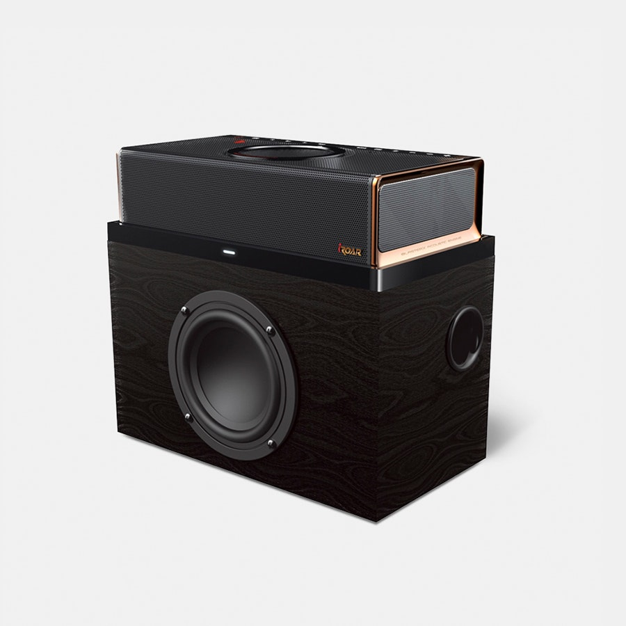 Creative iRoar & Rock Wireless Speaker Bundle