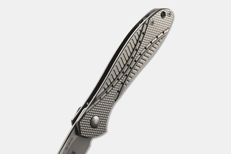 CRKT Eros K455TXP Titanium Gentleman's Folder