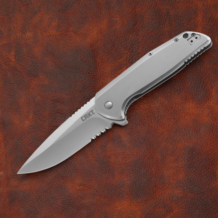 CRKT 3710 Liong Mah G.S.D. Flipper Combo Edge