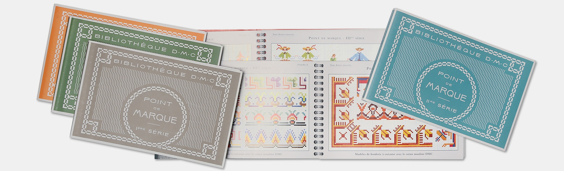 Cross Stitch DMC Library by Maison Sajou