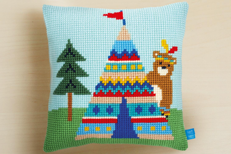 Cross Stitch Pillow Kit