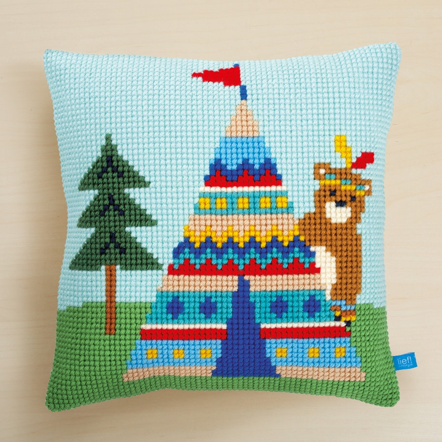 Cross Stitch Pillow Kit