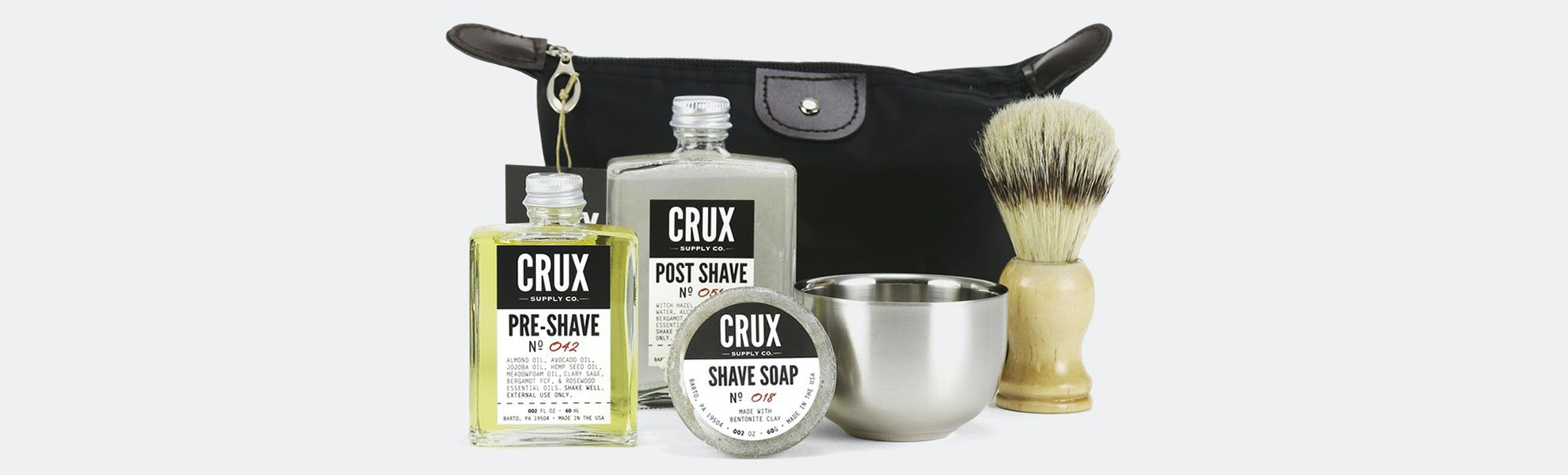 Crux Supply Co. Deluxe Shaving Kit