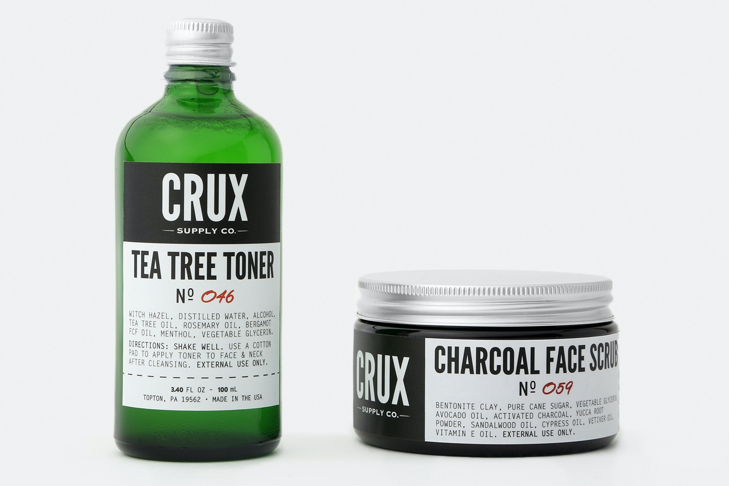 Crux Supply Co. Scrub & Toner Bundle