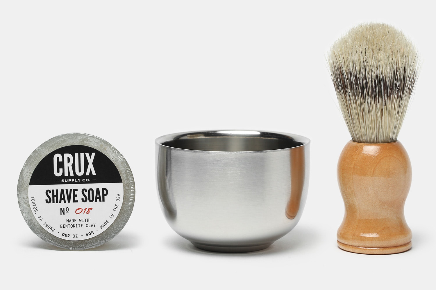 Crux Supply Co. Shaving Bundle