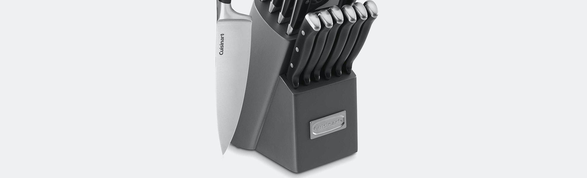 Cuisinart Classic Triple-Rivet 15-Piece Knife Set