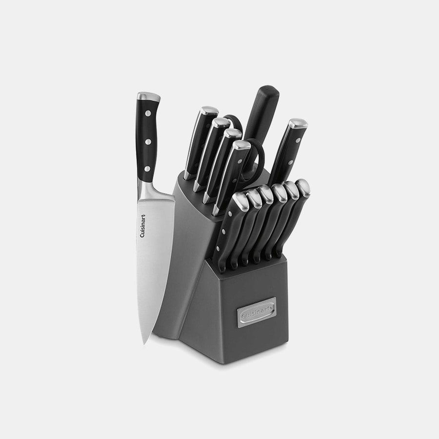 Cuisinart Classic Triple-Rivet 15-Piece Knife Set