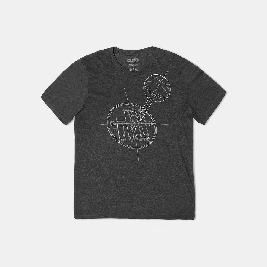 Curb: Manual Gearbox Preservation Society T-Shirt