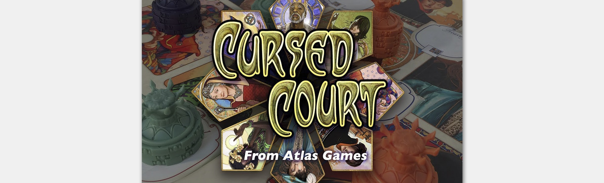 Cursed Court Board Game