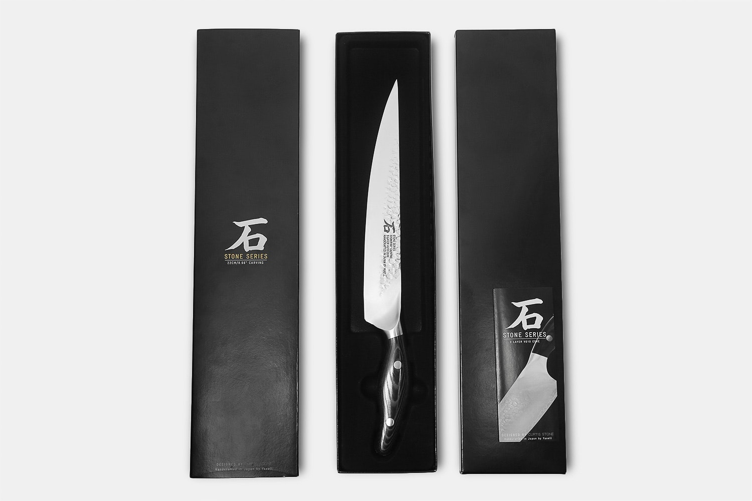 """Stone Series by Yaxell 8.66"""" Carving Knife"""
