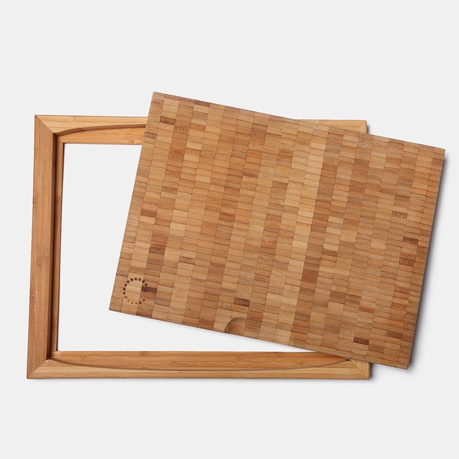 Curtis Stone Flipper Bamboo Cutting Board