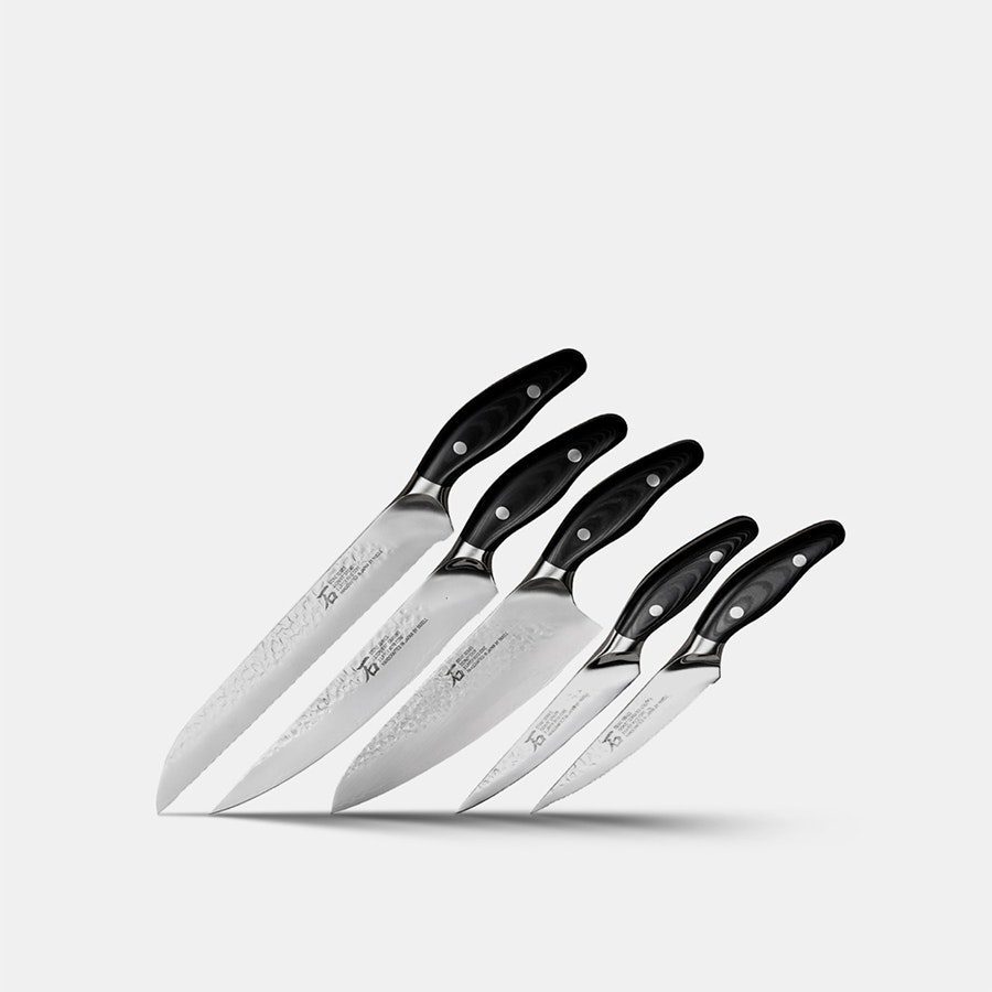 "Curtis Stone ""Stone Series"" 5-Piece Knife Set"