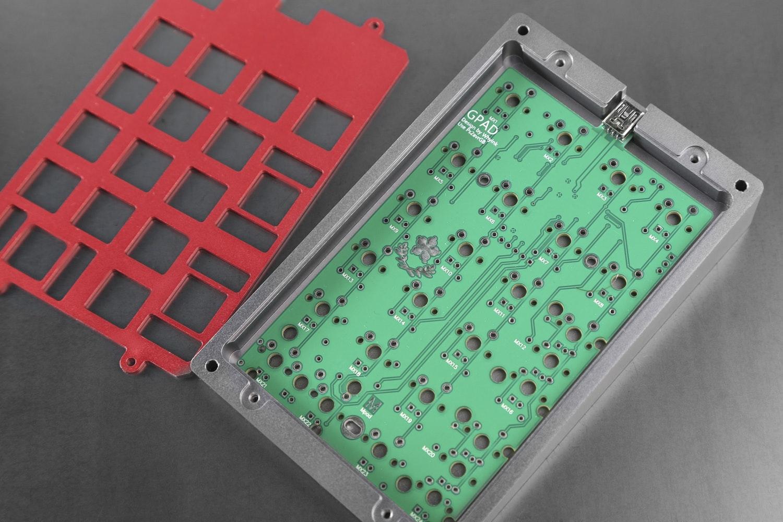 Revo Design Custom CNC Aluminum Keypad