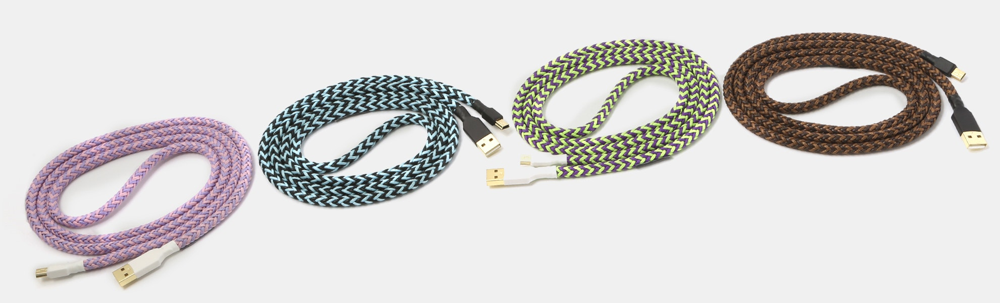 Keycap Themed Braided Nylon USB Cable