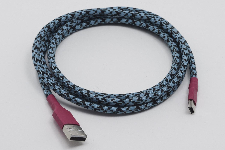 Custom Sleeved USB Cable