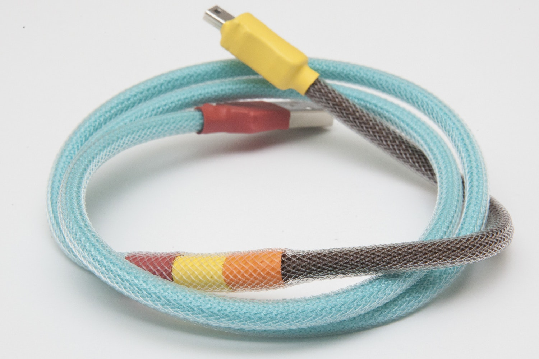 1976 Custom Sleeved USB Cable