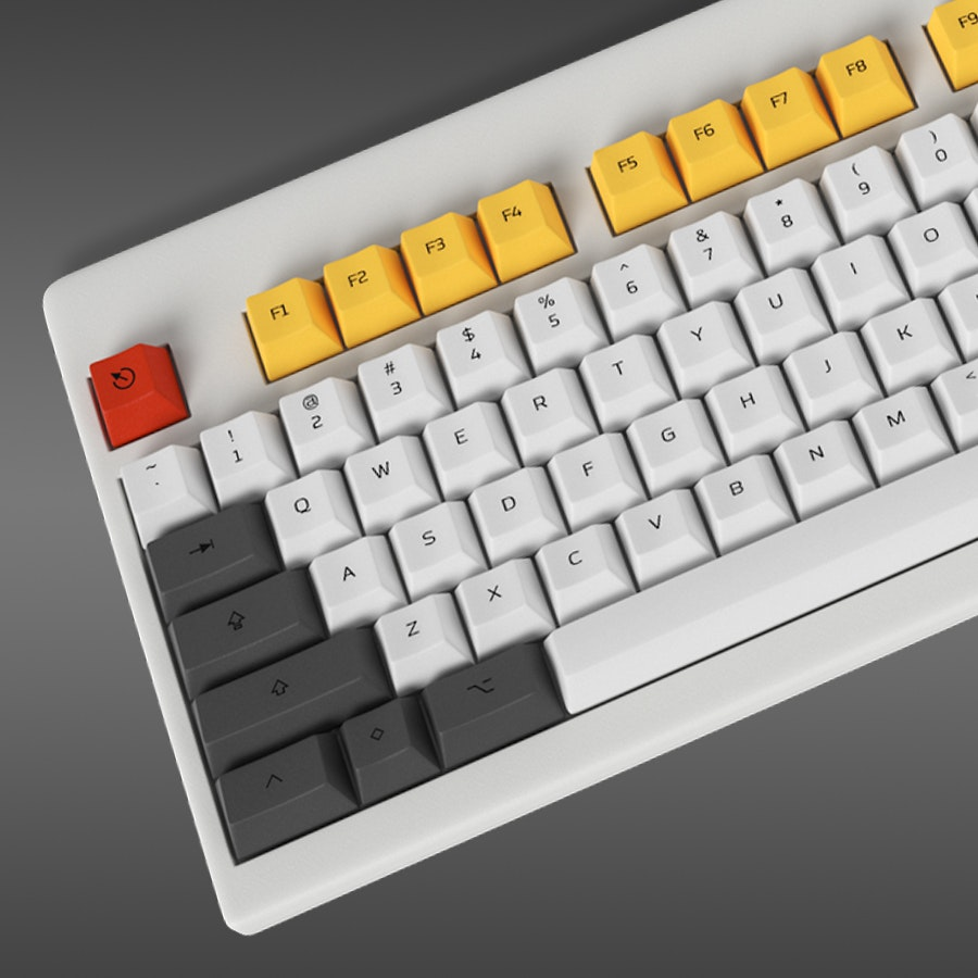 Custom Topre Keycap Set