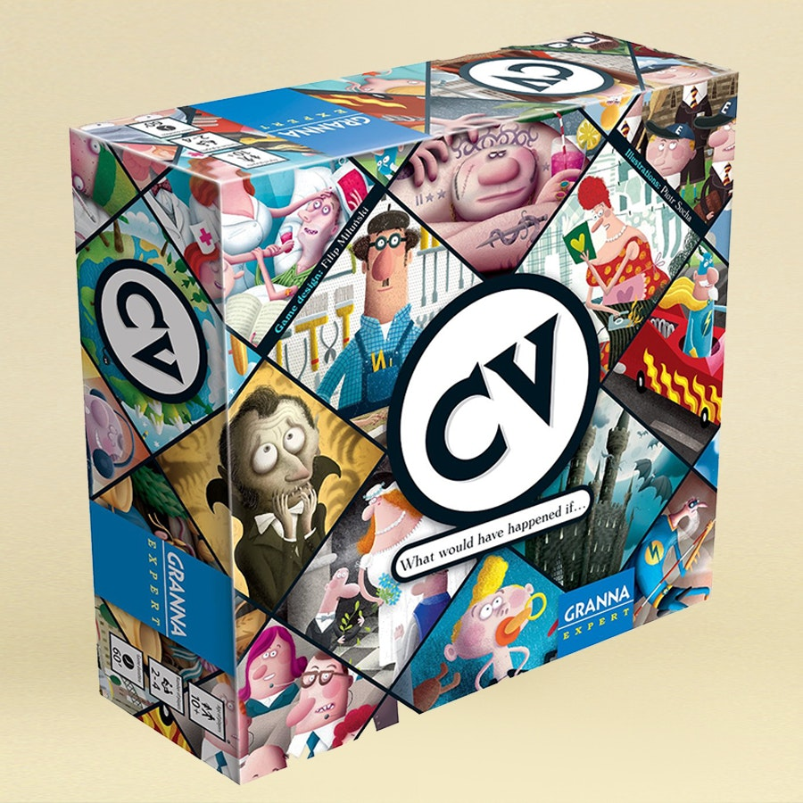 CV & CV: Gossip Board Game Bundle