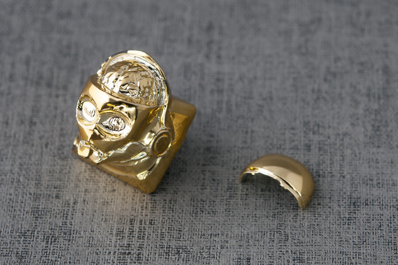 Cyborg GO Artisan Keycap