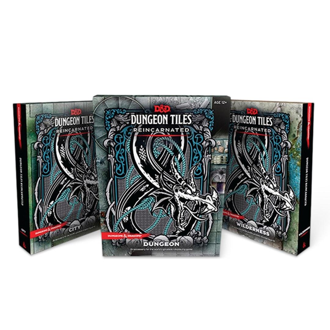 D&D: Dungeon Tiles Reincarnated Bundle