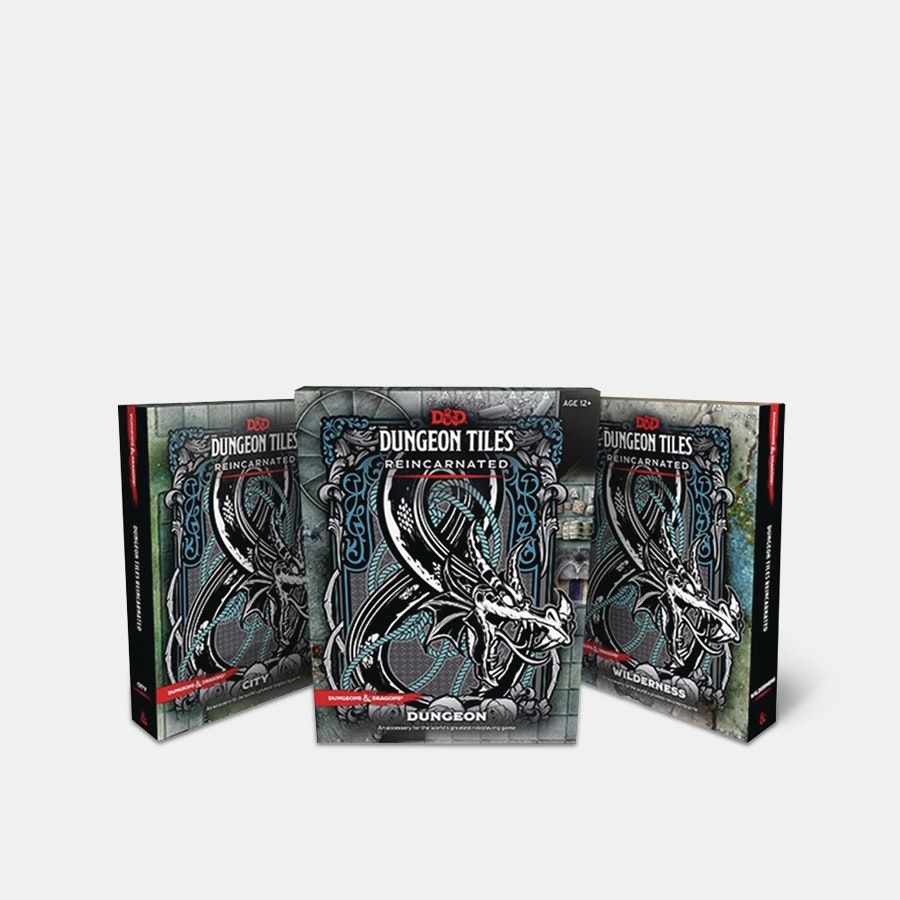 D&D: Dungeon Tiles Reincarnated Bundle