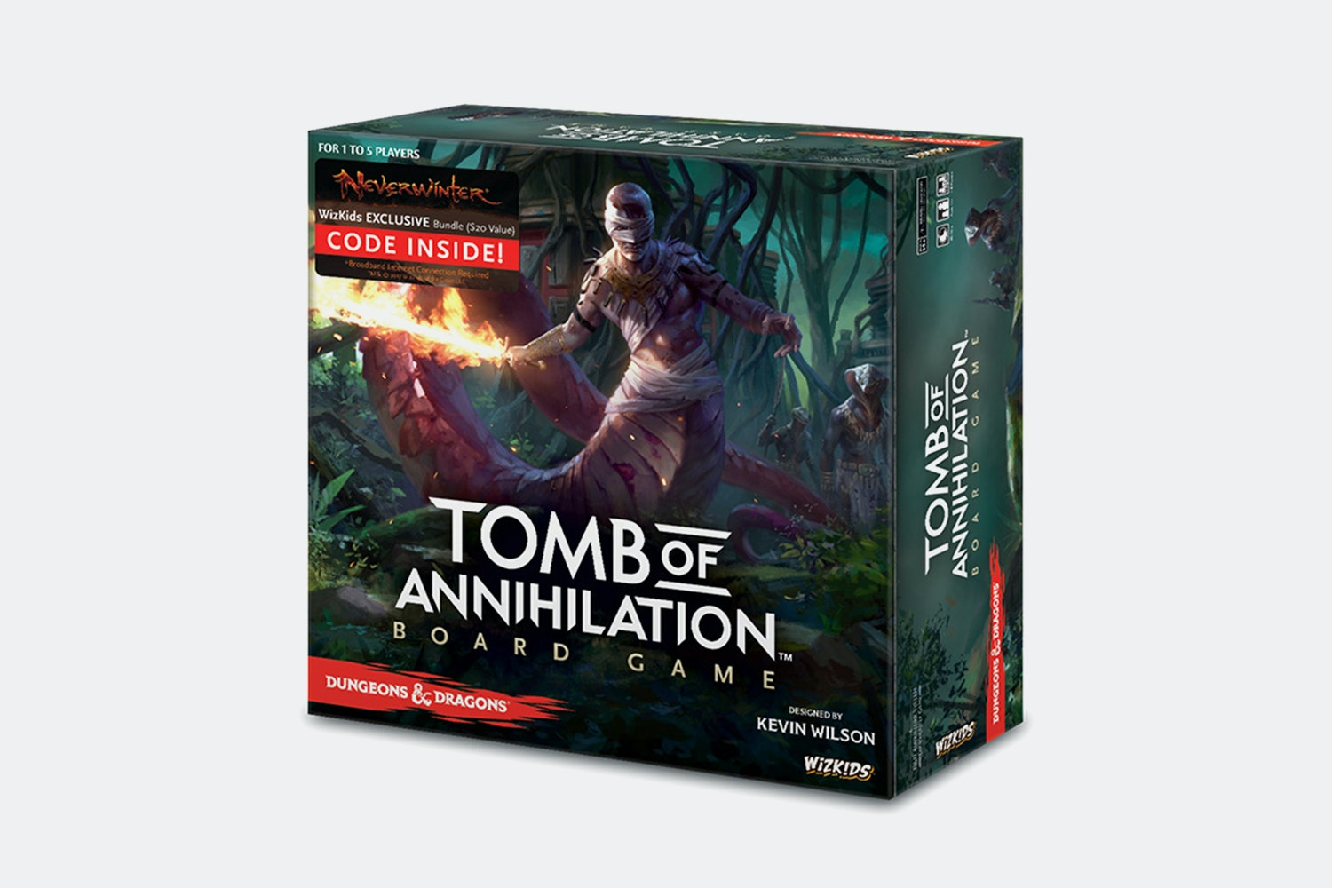 D&D: Tomb of Annihilation Board Game