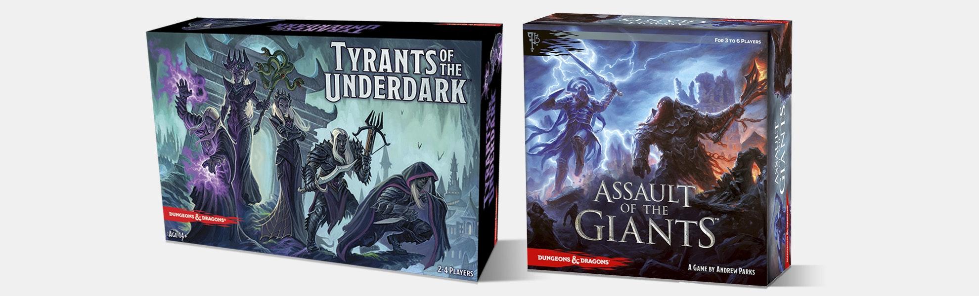D&D Tyrants & Assault of the Giants Bundle