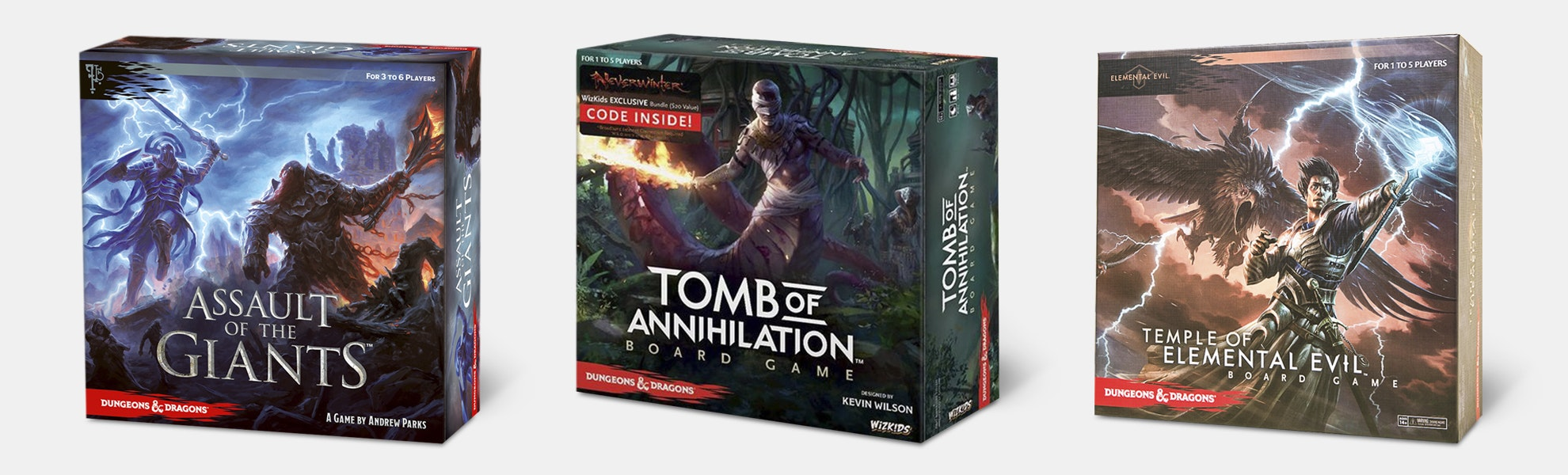 D&D: Ultimate Scenario Board Game Bundle (3-Pack)